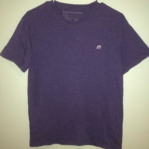 Purple Banana Republic T-Shirt